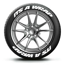 "PERMANENT TIRE LETTERS 1.25"" ITS A WRAP 15""16""17""18"" 19"" 20"" 21"" 22"""