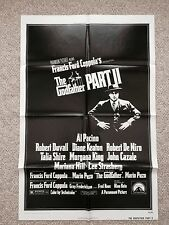 GODFATHER PART II - Original/Authentic 27x41 MINT---Poster - VINTAGE --1974