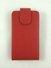 COVER CASE COVER WITH CLOSING MAGNET FOR SAMSUNG GALAXY MINI 2 S6500 COLOUR RED