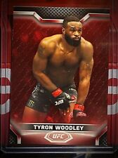 TYRON WOODLEY 2020 Topps UFC Knockout Red Ruby 8/8 BASE #47 🔴
