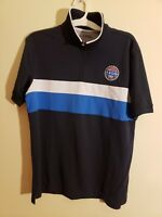 IZOD Malibu Cup Nationals Performance Polo Shirt Size L 1/4 Zip