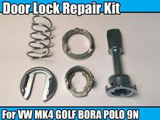 Kit de reparación de bloqueo para VW MK4 Golf Bora Polo 9N Cilindro de Cerradura de puerta izquierda & derecho