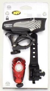 NiteRider Lumina 1200 Boost Headlight Bike Light Lumen + Solas 250 Taillight USB