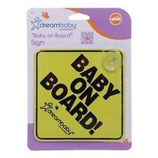 Dreambaby Baby On Board Safety Sign