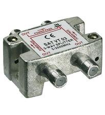 SAT Verteiler 3-fach 5-2450 MHz - Digital-tauglich