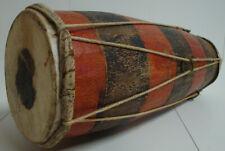 Hochw. 70er J. Ceylon Bera Röhrentrommel Bere Trommel Holztrommel Handarbeit