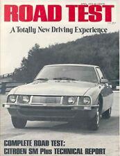 1972 Citroen SM Sales Brochure x7158-NUPC2B
