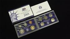 2001 S US Mint Proof 10 Coin Set