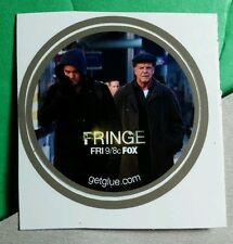 FRINGE FOX PETER WALTER BISHOP JOHN NOBLE JOSHUA JACKSON  TV GET GLUE STICKER
