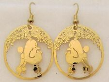 Poodle Jewelry  Show Poodle Earrings