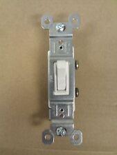 Pass /& Seymour P/&S 15 Amp Single Pole Toggle Switch Brown 660 Speedwire 100
