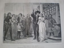 The Taming of the Shrew from Frank W W topham 1879 old print