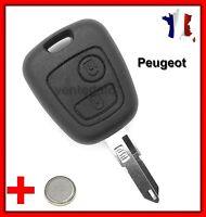Coque Plip Clé Pour Peugeot 106 206 206CC 306 406 107 207 307 Partner + Pile
