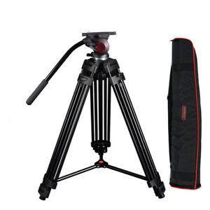 MTT601A 10 kg load  Aluminum camera tripod w/fluid Head for dslr