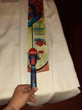 Spiderman Fishing Rod Pole Reel Combo Kit C0011-3007 2.6' - Quantity 1 Brand New