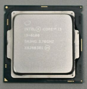 Intel Core i3 i3-6100 3.7 Ghz LGA1151 Dual Core
