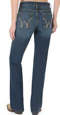 NWT Women's Wrangler Q Baby Cool Vantage Boot Cut No Gap Waist Jeans 15/16 34