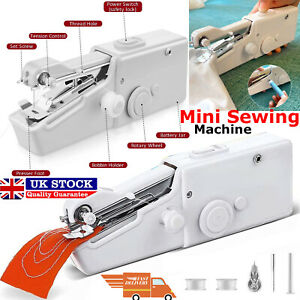Mini Portable Handheld Cordless Sewing Machine Hand Held Stitch Home Clothe 31Pc