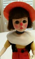 Effanbee Storybook Storyland Doll Pinocchio #1192 with original Box, Stand & Tag