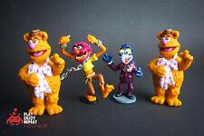 Quatre Vgc Sesame Street Rare Action Figurine Finition Gâteau Henson Disney
