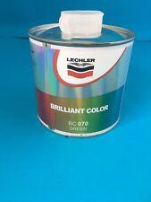 BC070 BRILLIANT COLOUR GREEN INK LECHLER INK COLOUR 0.5LTRS