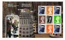 2013 GB QE2 DY6 DOCTOR WHO COMMEMORATIVE PRESTIGE STAMP BOOKLET PANE DP455 MNH