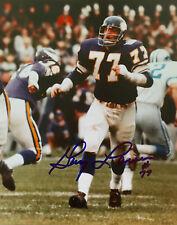 Minnesota Vikings GARY LARSEN  PPE Autographed 8 x 10 Color Photo W/COA