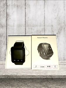 Black Silicone Smart Watch