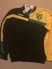 Norwich City Shirt Jacket 2015/16: Medium *BNWT*