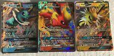 Lot de 3 Carte pokemon Gx neuve (Pyroli, Aquali, Voltali) Francaise rare pv 210