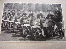 1930 'S HARLY DAVIDSON  SALT LAKE CITY POLICE DEPT  11 X 17  PHOTO  PICTURE