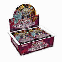 YuGiOh Legendary Duelists: Rage of Ra booster box in stock 1st Edition!