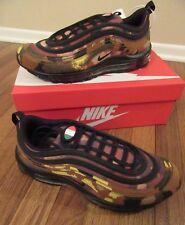 reputable site 21284 fb64f Nike Air Max 97 Premium QS Size 11 Italy Country Camo Ale Brown Khaki  AJ2614 202