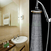 "High Quality 6"" ABS Rainfall Shower Head Extension with Shower Arm and hose kit"