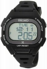 Seiko SBEF055 PROSPEX Super Runners Solar Stop Watch Black 4954628449108