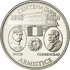 [#715713] France, Médaille, Centenaire de l'Armistice, History, 2018, FDC