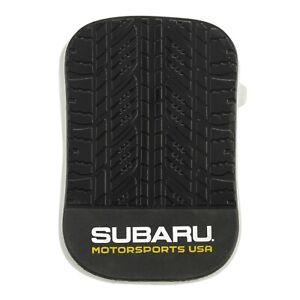 Subaru Motorsports USA Logo Silicone Tire Tread Pad Wrx Sti Impreza Forester