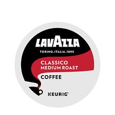 Lavazza Coffee Keurig K-Cups, Classico, Medium Roast K Cups 24 Count - FRESH