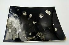Billy Wright Wolves FC & England Presenting a Greyhound Trophy Press Photograph