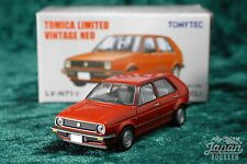 [TOMICA LIMITED VINTAGE NEO LV-N71a 1/64] VOLKSWAGEN VW GOLF II CLi (Red)