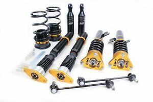 ISC Suspension For 2010 - 2013 Mazda 3 N1 Street Sport Coilover Kit - M112-S