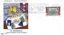 FRANCE FDC - 345 1256 3 LA BOURBOULE flamme 28 5 1960