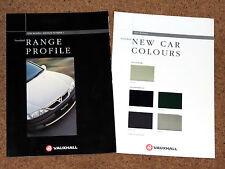 1996 VAUXHALL Sales Brochure - Corsa Tigra Astra Vectra Omega Frontera Monterey