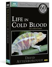 LIFE IN COLD BLOOD (2008): COMPLETE David Attenborough BBC TV Series  NEW DVD UK