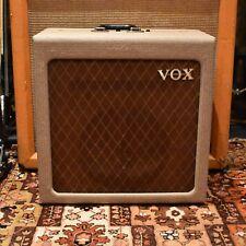 Vintage 1959 Vox AC15 AC1 1st circuit TV beige Fawn Valve Amplificateur #3730 Rola
