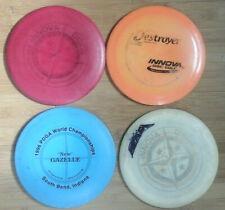 Lot of 4 Used Innova Disc Golf Discs Frisbee Golf