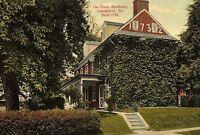 C.1910 The Owen Residence, Lansdowne, Pa. Vintage Postcard P137