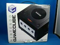 Nintendo GameCube Console Black Color & Controller with BOX and Manual Excellen