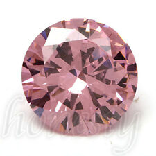 14mm Charm Round Cut Pink Sapphire Lustrous Loose GEMSTONE Gem