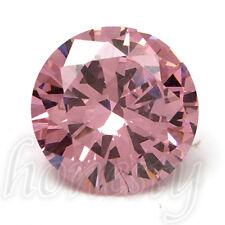 14MM Beautiful Charm Round Cut Pink Sapphire Lustrous Loose Gemstone Gem